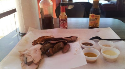 Photo of American Restaurant Boomtown BBQ Company at 6385 Calder Ave, Beaumont, TX 77706, United States