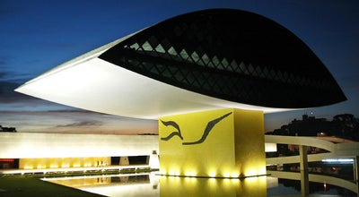 Photo of Art Museum Museu Oscar Niemeyer (MON) at R. Mal. Hermes, 999, Curitiba 80530-230, Brazil