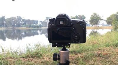 Photo of Lake ทะเลสาบ หลังม.กรุงเทพ at Thailand