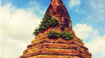 Photo of Monument / Landmark Black Stupa (That Dam) at Chantha Khoumane Road, Vientiane, Laos