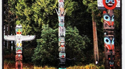 Photo of Monument / Landmark Brockton Point Totem Pole at Vancouver, Canada