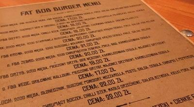 Photo of American Restaurant Fat Bob Burger at Ul.kramarska 21/2, Poznan 61-765, Poland