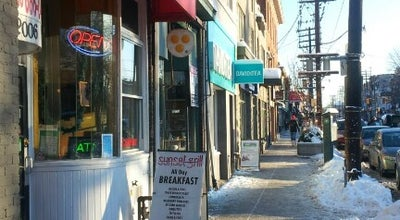 Photo of Diner Sunset Grill at 2006 Queen St. E, Toronto, ON M5H 3W4, Canada