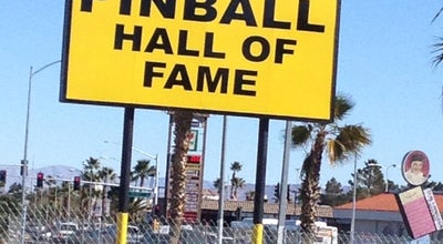 Photo of Tourist Attraction Pinball Hall of Fame at 1610 E Tropicana Ave, Las Vegas, NV 89119, United States