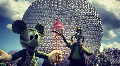 Photo of Theme Park Epcot at 200 Epcot Center Dr, Lake Buena Vista, FL 32830, United States