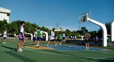 Photo of Basketball Court สนามบาสเก็ตบอล (Basketball Field) at Assumption College Sriracha, Si Racha, Changwat Chon Buri, Thailand