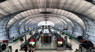 Photo of Airport Suvarnabhumi Airport (BKK) ท่าอากาศยานสุวรรณภูมิ at 999 Moo 1 Bang Na-trat Rd, Bang Phli 10540, Thailand