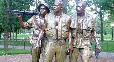 Photo of Historic Site Vietnam Veterans Memorial - Three Servicemen Statues at 21st Street, Nw And Constitution Avenue, Nw, Washington, Dc, Washington D.C., DC 20245, United States