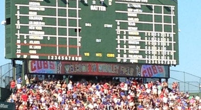 Photo of Tourist Attraction Wrigley Field at 1060 W Addison St, Chicago, IL 60613, United States