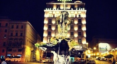 Photo of Monument / Landmark Piazza Barberini at Junction Of Via Del Tritone, Rome, Italy