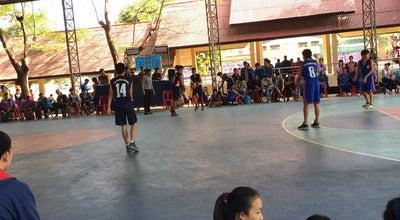 Photo of Basketball Court Basketball Court P.T.K. School at Mueang Nong Khai, Thailand
