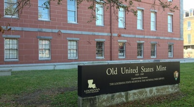 Photo of History Museum Old U.S. Mint at 400 Esplanade Ave, New Orleans, LA 70116, United States