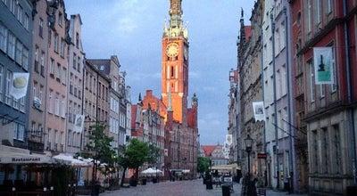 Photo of Neighborhood Główne Miasto at Dlugi Targ, Gdansk, Poland