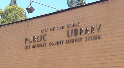 Photo of Library County of Los Angeles Public Library - San Dimas at 145 N Walnut Ave, San Dimas, CA 91773, United States