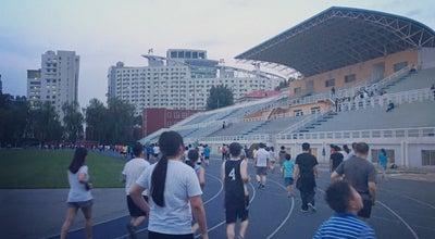 Photo of Playground 北航体育场 at 北京市海淀区学院路, 中国, China