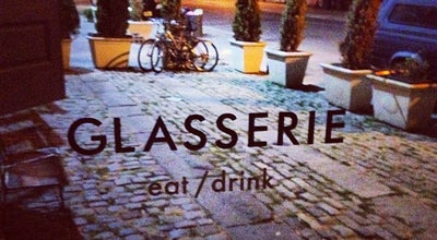 Photo of Mediterranean Restaurant Glasserie at 95 Commercial St, Brooklyn, NY 11222, United States