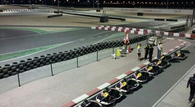 Photo of Tourist Attraction Bahrain International Karting Circuit at Gate 255,gulf Of Bahrain Avenue, Sakhir 1062, Bahrain