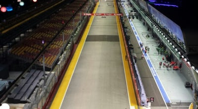 Photo of Racetrack Marina Bay Street Circuit at Marina Bay, Singapore, Singapore