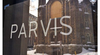 Photo of Cafe Cafe Parvis at 433 Mayor Street, Montreal H3A 1N9, Canada