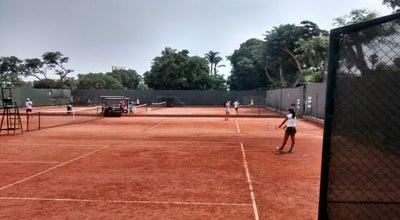 Photo of Tennis Court Centro de Esparcimiento del Jockey Club del Peru (Tenis) at Av. El Derby Nro. Int Pta 3, Lima, Peru