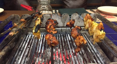 Photo of Indian Restaurant Barbeque Nation at 100 Feet Road, Ahmedabad 380015, India