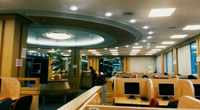 Photo of College Library 한양대학교 학술정보관 at 상록구 한양대학로 55, 안산시 426-791, South Korea