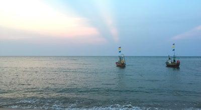 Photo of Beach บ้านพักชายทะเลค่ายพระราม6 at Thailand