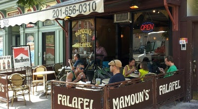 Photo of Middle Eastern Restaurant Mamoun's Falafel at 502 Washington St, Hoboken, NJ 07030, United States