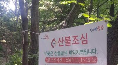 Photo of Trail 분당 불곡산입구 벤치 at South Korea