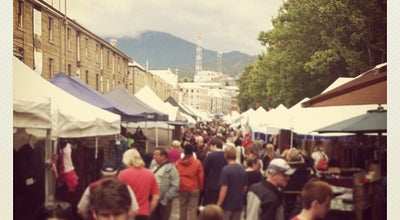 Photo of Tourist Attraction Salamanca Market at Salamanca Place, Hobart, Ta 7000, Australia