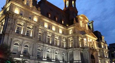 Photo of City Hall Hôtel de ville de Montréal at 275 Rue Notre-dame Est, Montréal, QC H2Y 1C6, Canada