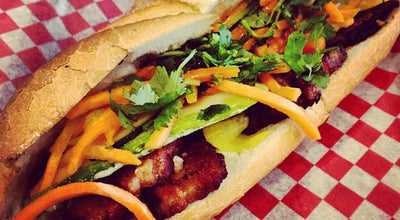 Photo of Asian Restaurant Banh Mi Boys at 392 Queen West, Toronto M5V 2A9, Canada
