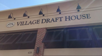 Photo of American Restaurant Village Draft House at 428 Daniels St, Raleigh, NC 27605, United States