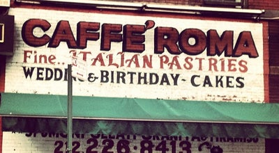 Photo of Italian Restaurant Caffe' Roma at 385 Broome St, New York, NY 10013, United States