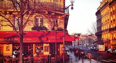 Photo of French Restaurant Brasserie de l'Isle Saint Louis at 55 Quai De Bourbon, Paris 75004, France