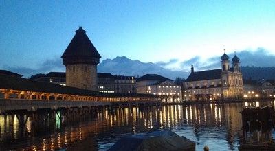 Photo of Historic Site Wasserturm at Bahnhofstrasse, Luzern, Switzerland