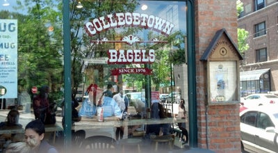 Photo of American Restaurant Collegetown Bagels at 415 College Ave, Ithaca, NY 14850, United States