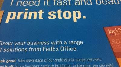 Photo of Shop and Service FedEx Office Print & Ship Center at 801 Louisiana St,, Houston, TX 77002, United States