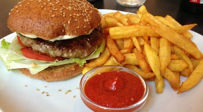 Photo of American Restaurant Die Burgermacher at Burggasse 12, Vienna 1070, Austria