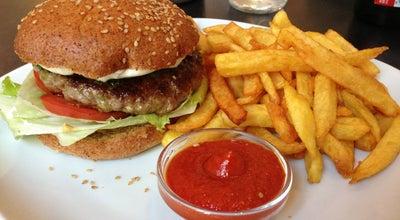 Photo of American Restaurant Die Burgermacher at Burggasse 12, Vienna 1070, Austria