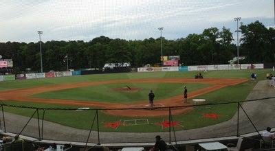 Photo of Baseball Field War Memorial Stadium at 1889 W Pembroke Ave, Hampton, VA 23661, United States