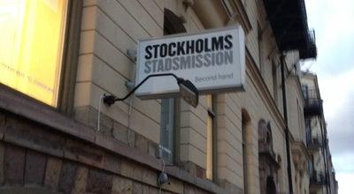 Photo of Thrift / Vintage Store Stockholms Stadsmission at Hagagatan 3, Stockholm 113 80, Sweden