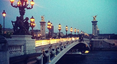 Photo of Bridge Pont Alexandre III at Pont Alexandre Iii, Paris 75008, France
