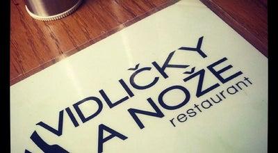 Photo of Modern European Restaurant Vidlicky A Noze at Vodní, 93/11, Prague 150 00, Czech Republic