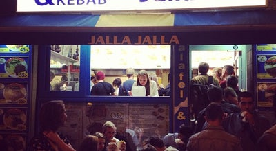 Photo of Falafel Restaurant Jalla Jalla at Bergsgatan 16, Malmö 211 54, Sweden