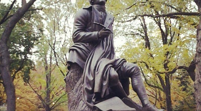 Photo of Sculpture Garden Robert Burns Statue at 65th St Transverse Rd, New York, NY 10019, United States