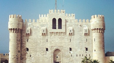 Photo of Historic Site Citadel of Qaitbay | قلعة قايتباى at As Sayalah Sharq, Al Gomrok, Egypt