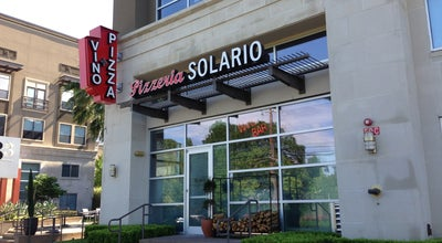 Photo of Pizza Place Pizzeria Solario at 3333 Weslayan St, Houston, TX 77027, United States
