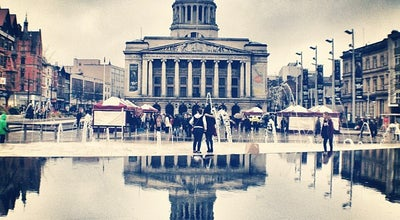 Photo of Monument / Landmark Old Market Square at Nottingham's City Centre, Nottingham NG1, United Kingdom