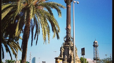 Photo of Monument / Landmark Monumento a Cristoforo Colombo at Plaza Portal De La Pau, Barcelona 08002, Spain